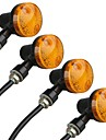 moto moto orange Clignotant ampoule du signal 12V (4 pieces)