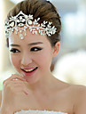 Bride\'s Crystal Rhinestone Forehead Wedding Headdress 1 PC
