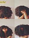 pleine dentelle perruques crepus boucles bresiliens humains de cheveux, perruque avant de lacet afro boucle frisee sans colle perruque