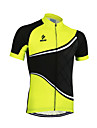 Arsuxeo® Maillot de Cyclisme Homme Manches courtes VeloRespirable / Sechage rapide / Design Anatomique / Zip frontal / Decorations