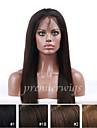10 \'\' - 24 \'\' soyeux droite densite de 130% indien remy vierge perruques de cheveux humains perruques de dentelle completes avec des