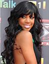 dans 100% bresilien ondes de corps de cheveux humains couleur naturelle des pleines perruques de lacet de stocks pour les femmes noires