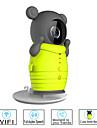 besteye® camera sans fil wifi mignon avec vision de nuit infrarouge soutien 32gb camera de surveillance IP de la carte de TF