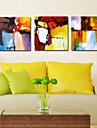 visuell star®abstract triptyk duk väggdekorationer tre paneler av hög kvalitet duk redo att hänga