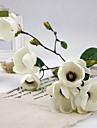 """33,5 """"decoration de la maison des fleurs de soie h, magnolia artificiels."""