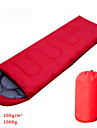 Sleeping Bag Rectangular Bag Hollow Cotton 900g Hiking / Camping / Fishing / TravelingMoisture Permeability / Moistureproof /
