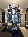30W Ljuskronor ,  Modern Krom Särdrag for stearinljus stil Metall Living Room / Bedroom / Dining Room / Sovrum
