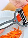 multifunctional 360 de grade pepene galben fructe de tăiere cuțit de curățat cartofi rotativ de legume planer răzătoare cu 3 lame (culoare