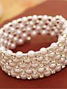 Brățări Pentru femei Componentă Imitație de Perle Imitație de Perle/Ștras