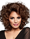 New Arrival Deep Brown Curly Fashion Woman\'s Short Wig