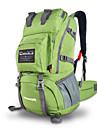 40 L Backpacker-ryggsäckar Camping Klättring Utomhus Fritid Sport Vattentät Regnsäker Multifunktionell BärbarGrå Blå Ljusgrön Mörkblå