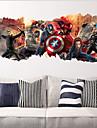 zooyoo ®1457 populära superhjälten vägg dekal giftavengers film tecken klistermärken