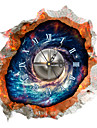 PAG®Modern Design 3D Effect Nebula Pattern Clock Sticker 14.96*14.96 in