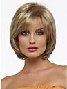 ny peruk värmetålig cosplay kort rödbrunt mix rakt mode bob hår peruk