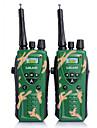 2 fois les enfants armee radio UHF vert radio bidirectionnelle