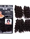 """evet nouvelle arrivee de cheveux frises crepus bresiliens tisse couleur faisceaux # 1b premieres extensions de cheveux bresiliens 4pcs 8 """"200g / lot"""