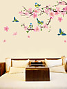 Botanique / Floral Stickers muraux Stickers avion Stickers muraux decoratifs,PVC Materiel Amovible Decoration d\'interieur Wall Decal