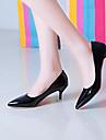 Chaussures Femme - Bureau & Travail / Habille / Soiree & Evenement - Noir / Rouge / Blanc - Talon Aiguille - Talons / Bout Pointu - Talons