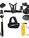 Accessoires pour GoProMonopied / Trepied / Sacs / Vis / Buoy / Grande Fixation Ventouse Camera Sportive / Avec Bretelles / Poignees /