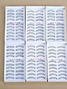 6x10pair ögonfransar Ögonfrans Hela ögonfransar Ögon / Ögonfrans Korsvis / Tjock / Naturligt långa Naturlig / Tjock / Lockigt Manual