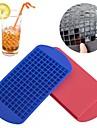 160 isbitar fryst kub bar pudding silikon bricka formformverktyg (slumpvis färg)