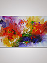 Hand-Painted Abstract Oil Painting on Canvas Ready to Hang