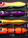 New Saltwater Popper Big Game Topwater Lure Handcraf Wood Bait Mustad