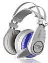 plextone pc900 blända bule ljus 7.1-kanals ljud cardheadphones med mikrofon / volymkontroll / spel för media