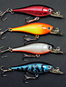4Pcs Hard Bait 50mm/5g Lifelike Minnow Fishing Lure Packs