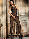 Feminin Lenjerie cu Jartieră / Ultra Sexy Pijamale Nailon Solid Negru