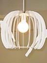 vogelkooi kroonluchter witte hanglamp modern geleid cob plafond gang licht geleid hanglamp slaapkamer lampen