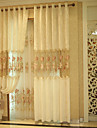 YIMI® One Pannel European-style Luxury Gloden Curtain (Grommet Top)
