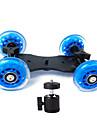 chariot de camera curseur patineur stabilisateur de camion professionnel des roues table reflex numerique EOS pour 5d2 + video PTZ petits