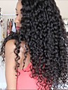 Big bresilienne de cheveux boucles perruques humaine vierge sans colle pleines perruques de dentelle Lace Front perruques de base de soie