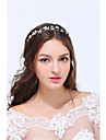 Women\'s Sterling Silver / Alloy Headpiece-Wedding / Special Occasion / Casual Headbands 1 Piece Clear Flower