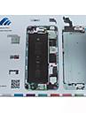 magnetisk skruv matta tekniker reparation pad guide för iPhone 6 plus