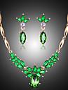 Dame Seturi de bijuterii La modă Perle Σκουλαρίκια Lănțișor Pentru Petrecere Ocazie specială Zi de Naștere Logodnă Cadouri de nunta