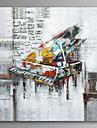 Piano Wall Art Canvas Print Ready To Hang