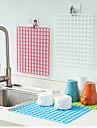 dränera frukt och grönsaker diskbänksskåpet pad slumpmässig färg