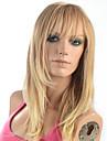 """2015 kvinnor gradvis förändringmode naturligt vågig blondin japansk värmebeständiga syntet långt rakt hår peruk 5651-27t613 22 """""""