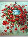 Peint a la main A fleurs/BotaniqueRealisme Un Panneau Toile Peinture a l\'huile Hang-peint For Decoration d\'interieur