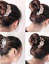 sydkoreanska hög kvalitet ornament i kammar hår spänne diamant pärla gå en slumpmässig stil