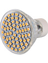 6W GU10 LED-spotlights MR16 60 SMD 3528 540 lm Varmvit / Kallvit Dekorativ AC 220-240 / AC 110-130 V 1 st
