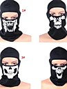 Face Mask Cykel Andningsfunktion / Håller värmen / Vindtät / Damm säker Dam / Herr Svart Mesh