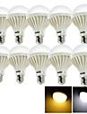 15W E26/E27 Ampoules Globe LED A90 24 SMD 5630 1000 lm Blanc Chaud Blanc Froid Decorative AC 100-240 V 10 pieces
