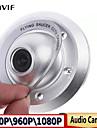 1080p \ 960p \ 720p IP-kamera ufo kamera 2.8mm vidvinkel inomhus övervakningskamera metallhölje högkvalitativ support pick-up