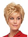 vente chaude extensions de perruque blonde a ondes courtes de synthetique charme