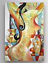 Peint a la main Portraits AbstraitsModern Un Panneau Toile Peinture a l\'huile Hang-peint For Decoration d\'interieur