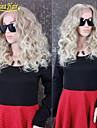 2015 mode full spetsar peruker människohår # 613 blond jungfruligt brasilianskt limfria fullt spets peruk spets front människohår peruk