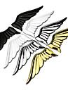 3d legering metall vingar änglavingar bilen sticker logo dekoration på baksidan av etiketten klistermärken kropps post